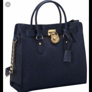 Large Michael Kors Hamilton Bag